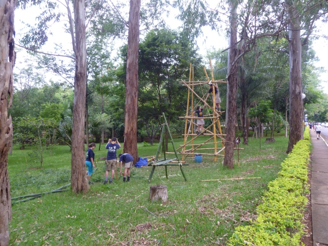 Torre de Observação Bambú