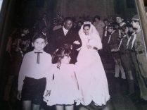 Casamento do Chefe Zé - Escoteiros ao fundo