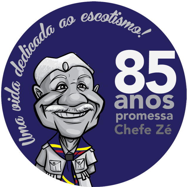 Logo comemorativo 85 Anos de Promessa