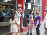 Panfletagem - Dia Nacional da Coleta de Alimentos