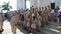 Escoteiros de Campinas na Cerimônia