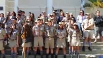 Tropa Andorinha na Cerimônia